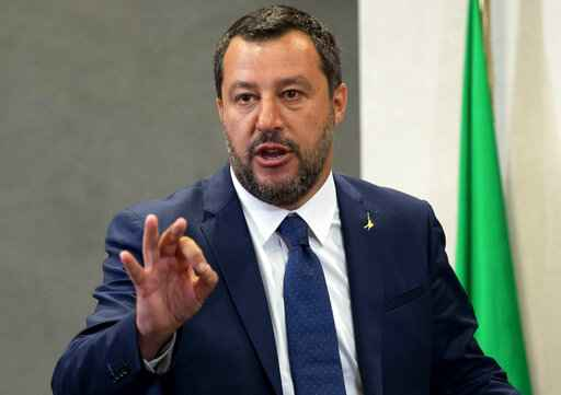 Italy's Salvini bows to pressure to respond on Russia report