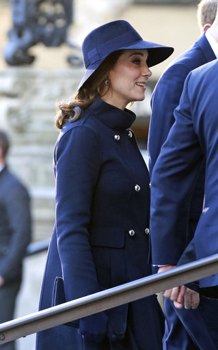 Royals join bereaved families in London tower fire memorial