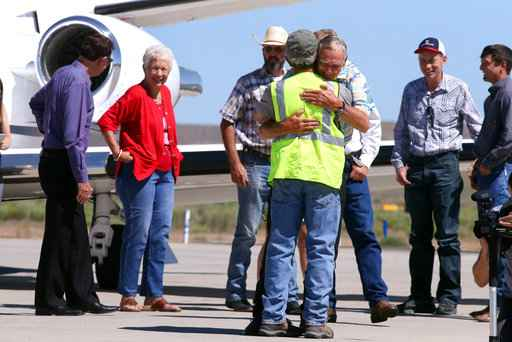 Pardoned ranchers arrive home, plan lots of 'decompressing'