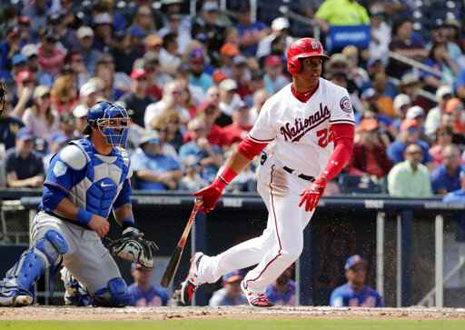 Surprise star as teen, Soto helps Nats move on after Harper