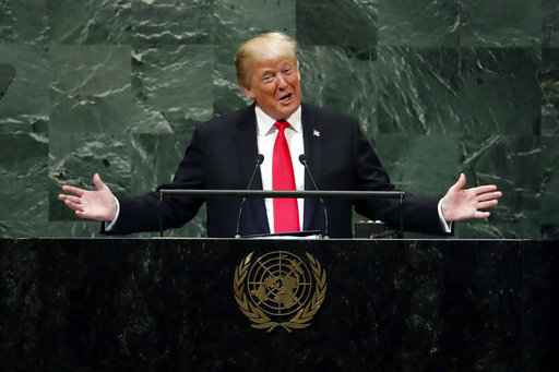 Trump lauds Kim in United Nations  return
