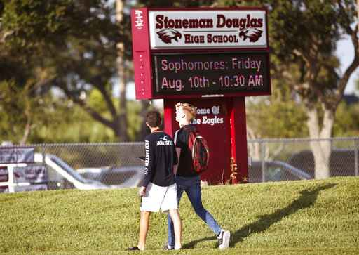 Parkland students start school year with tightened security