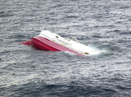 Search underway for crew of capsized fishing ship off Palau
