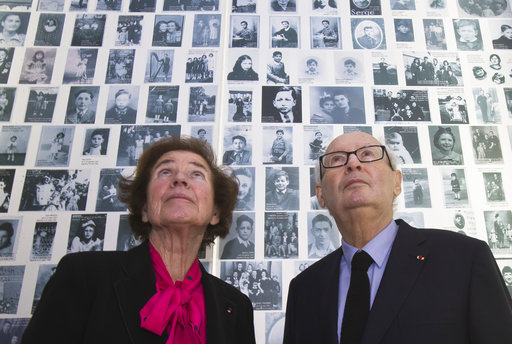 Little-known face of famed Nazi hunters shown in Paris