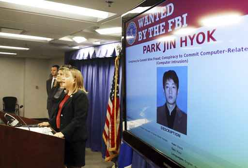 North Korean charged in crippling Sony hack Wanna Cry virus