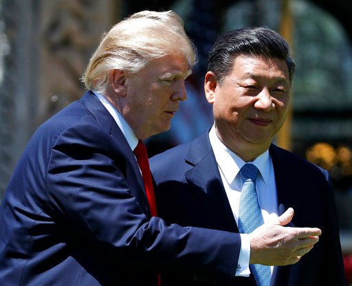 Trump doubles down on trade spat with China