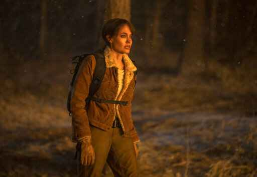 This image released by Warner Bros. Entertainment shows Angelina Jolie in a scene from