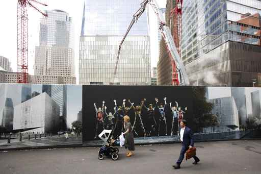 Rebuilding work continues, 18 years after 9/11