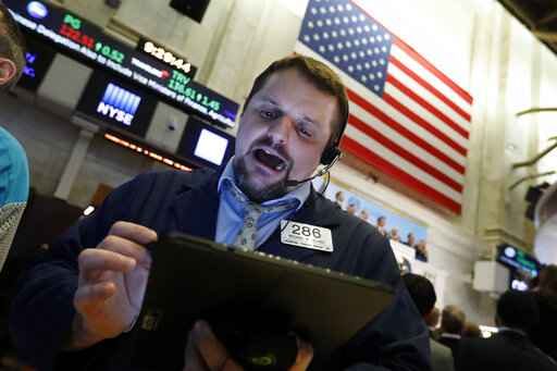 Wall Street rises at open after steep selloff