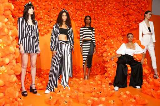 Stacey Bendet creates a 'field of dreams' at NY fashion week