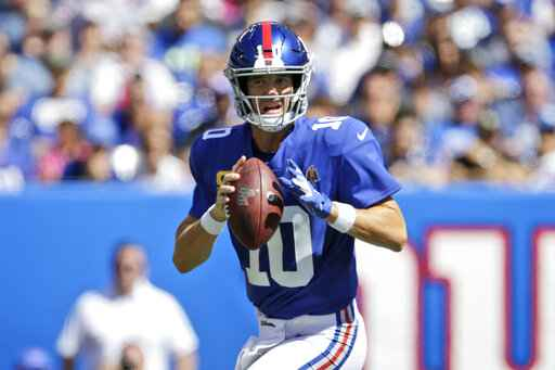 Giants bench Eli Manning, name Daniel Jones starting QB