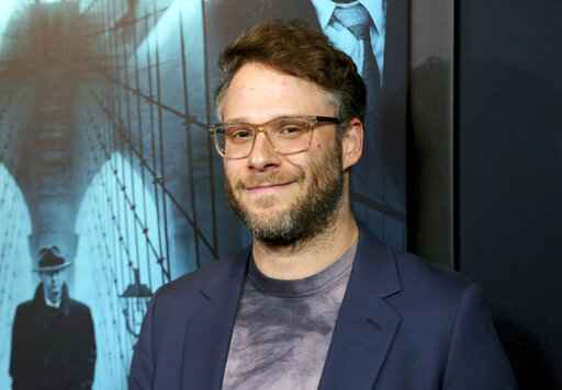 FILE - Seth Rogen appears at the