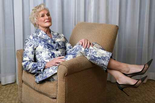 FILE - Glenn Close, nominated for an Oscar for best actress for her role in