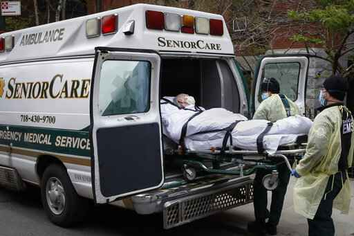 NY count: 6,300 virus patients were sent to nursing homes