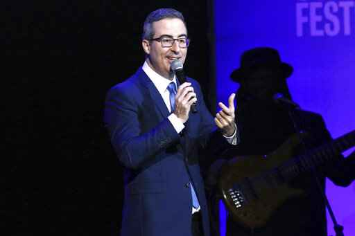 John Oliver 'honored' in Connecticut: Mayor names sewer plant after him