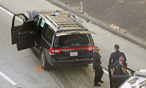 Southern California mortuary vehicle stolen with body inside