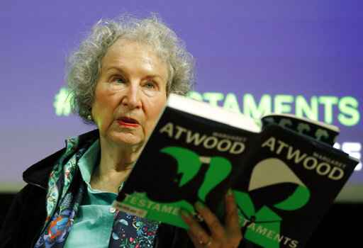 New Atwood novel 'The Testaments' revisits dystopian world