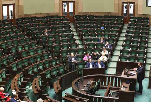 Polish parliament to be suspended until after Oct. 13 vote
