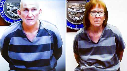 Former fugitive couple plead not guilty to Arizona killing