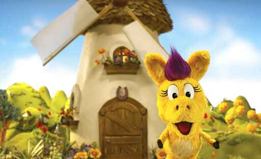This image released by PBS Kids shows the puppet Donkey Hodie from the new series,