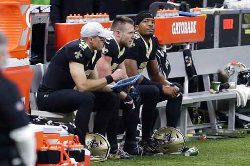 AP source: Saints' Brees has rib fractures, collapsed lung ... Taysom Hill Contract