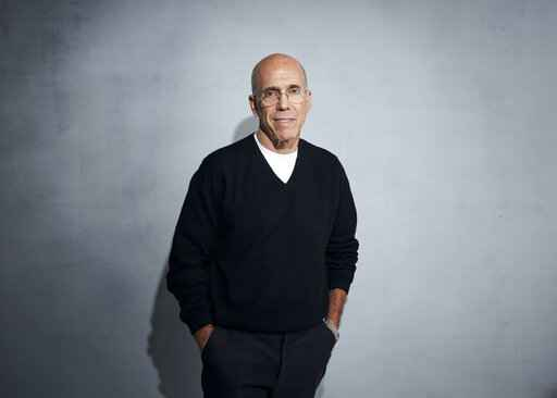 Jeffrey Katzenberg poses for a portrait to promote