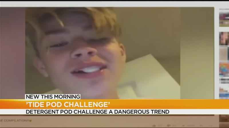 Doctors warn parents about dangerous 'Tide Pod Challenge'