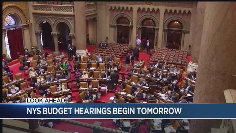 New York State executive budget hearings start Tuesday