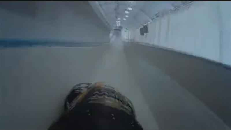 News10NBC's Rich Donnelly took his first bobsled run