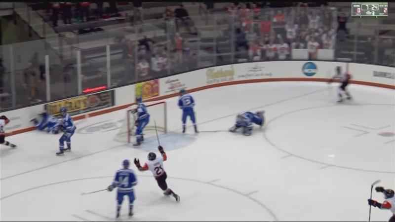RIT Men's hockey loses hard-fought defensive battle to Air Force