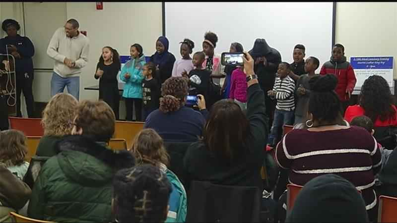 Rochester kids celebrate Dr. Martin Luther King, Jr.