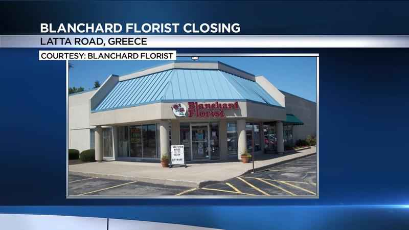 Blanchard Florist in Greece set to close