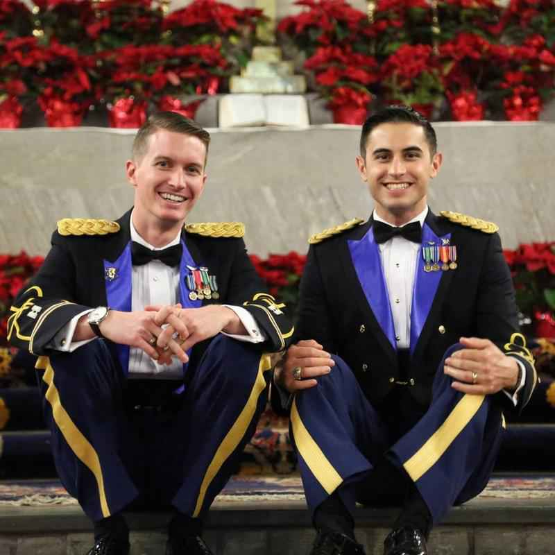 Same-sex marriage takes place at West-Point