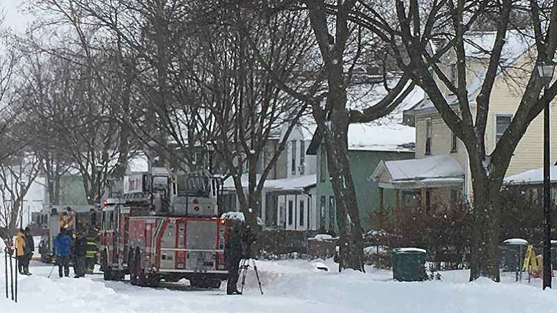 Residents displaced after fire on Frost Avenue