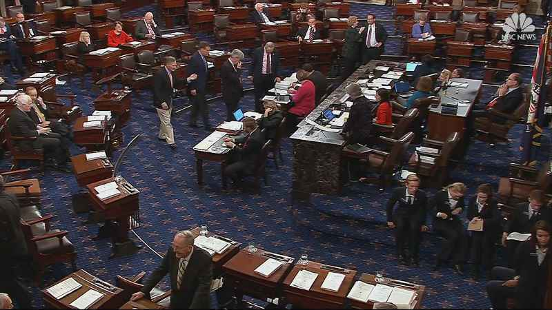 Senate talks to drag into workweek