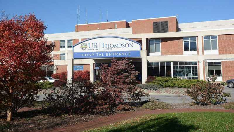 Camera found in restroom at Thompson Hospital in Canandaigua