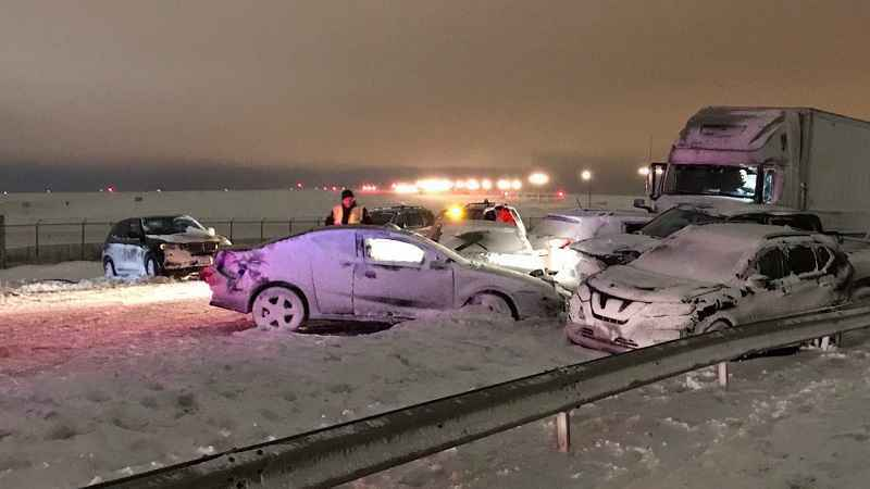 Thruway re-opened after deadly pileup wreck near Buffalo