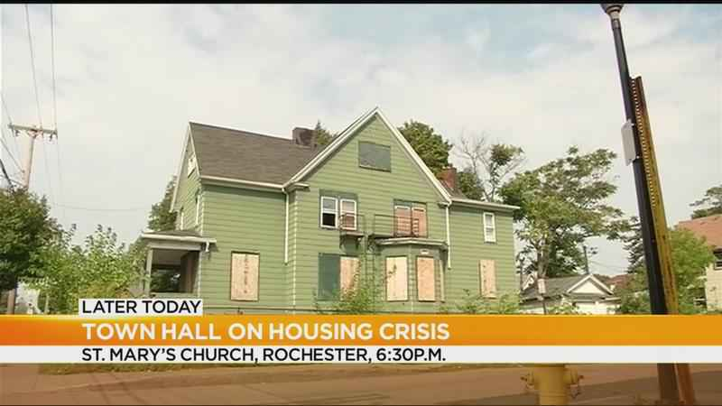 Tenants to host town hall on Rochester housing crisis
