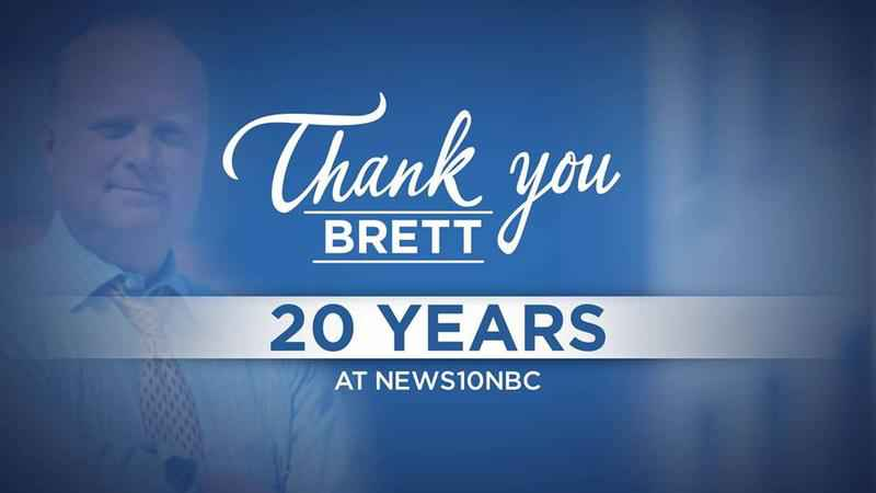 Brett Davidsen thanks his viewers, colleagues & family