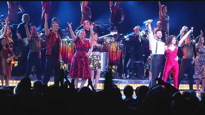 Best Seat in the House: 'On Your Feet' stars teach Nikki how to conga!