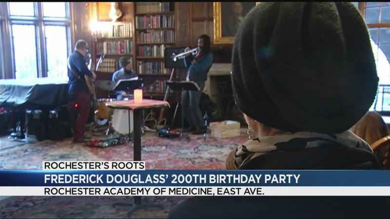 200th birthday party held for Frederick Douglass