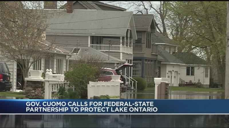 Governor Cuomo calls for federal-state partnership to protect Lake Ontario shoreline from flooding