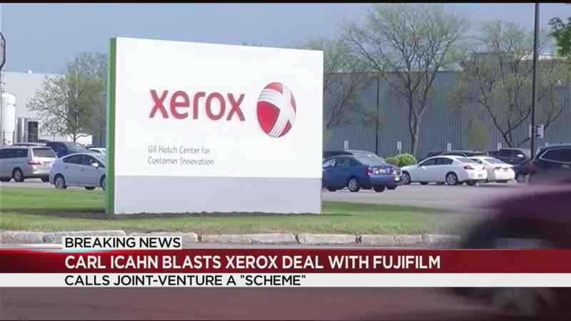 Icahn opposes Fuji's 'scheme' to take control of Xerox; company responds