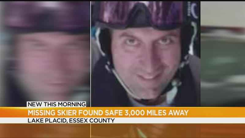 Missing Whiteface Mountain skier found alive in California