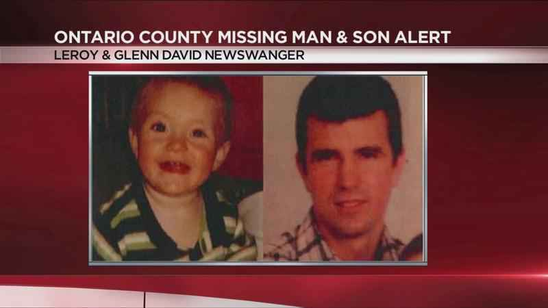 Missing child alert issued for Ontario County father and baby