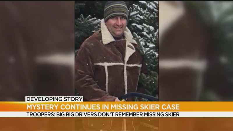 Mystery continues in missing skier case