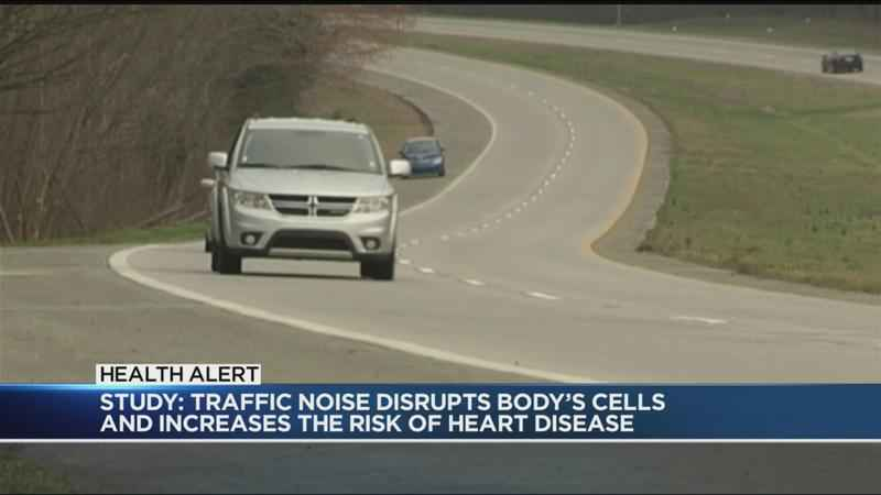 Report: Noise from traffic could harm your heart