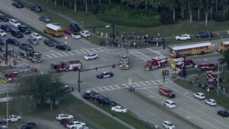 Shooting at Florida high school; at least 17 dead