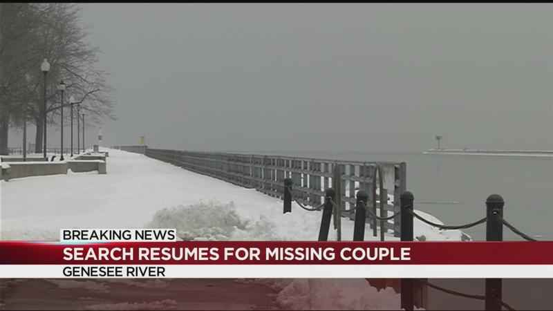 Scuba efforts continue in search for missing Perinton couple