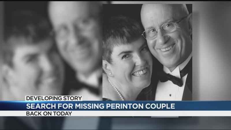Search for missing Perinton couple continues
